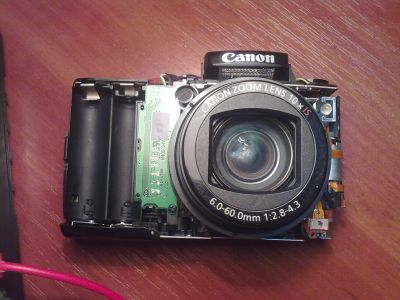 Canon SX110IS - без лица
